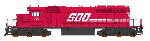 Intermountain SD40-2 SOO Line with ESU Lokpilot DCC (Non-Sound)