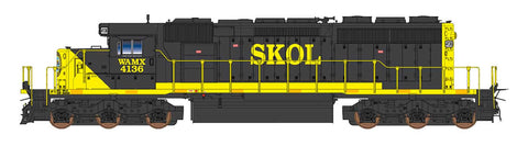 Intermountain SD40-2 Webb Asset Management (WAMX) with ESU Lokpilot DCC (Non-Sound)