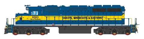 Intermountain SD40-2 Dakota, Minnesota, & Eastern (DME) 49384(S) with Factory ESU Loksound