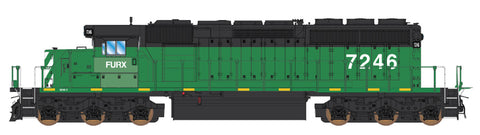 Intermountain SD40-2 FURX ex-BN SD40-2 49387(S) with Factory ESU Loksound