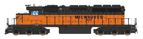 Intermountain SD40-2 Milwaukee Road 49389 with ESU Lokpilot DCC (Non-Sound)