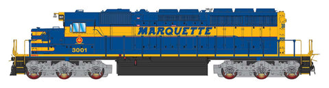 Intermountain SD40-2 Marquette Rail 49390(S) with Factory ESU Loksound