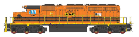 Intermountain SD40-2 Genesee & Wyoming: Marquette Rail 49391 with ESU Lokpilot DCC (Non-Sound)
