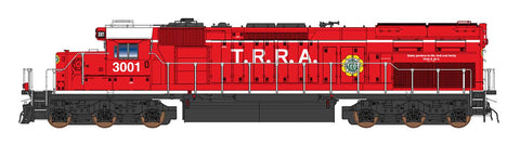 Intermountain SD40T-2- Terminal Railroad Association - Pre-Order