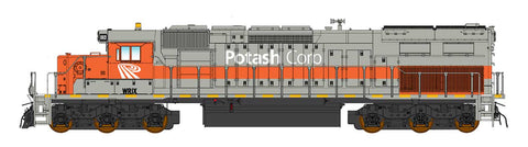 Intermountain SD40T-2- Western Rail Inc. - WRIX Potash - Pre-Order