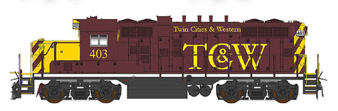 Intermountain GP10 Twin Cities & Western 49813 with ESU Lokpilot DCC (Non-Sound)