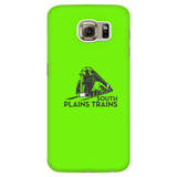 South Plains Trains Phone Case in Lime Green for Multiple Phone Models