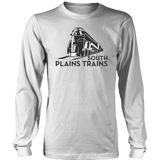 District Brand South Plains Trains Long Sleeve T-Shirt