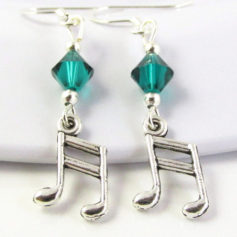 Music Note Earrings I
