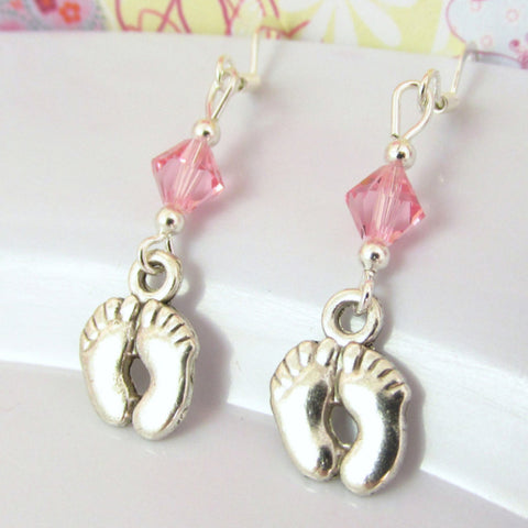 Baby Feet Earrings