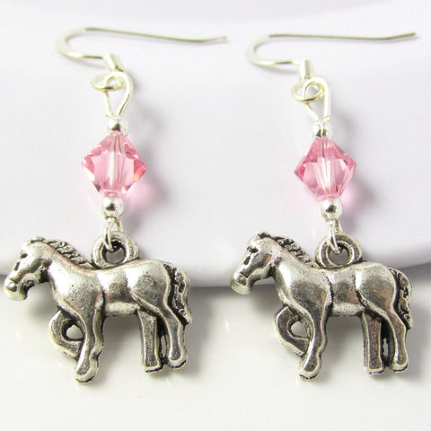 Horse Earrings I