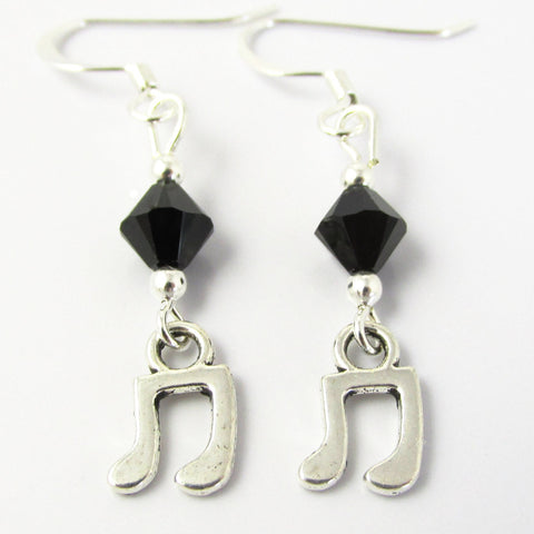 Music Note Earrings III