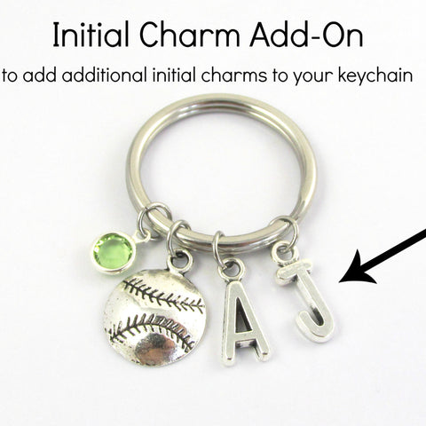 KEYCHAIN ADD-ON: Initial Charm