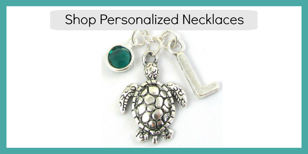 Shop Bead Brilliant's Personalized Necklaces