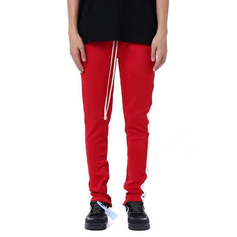 RETRO PANTS - RED / WHITE