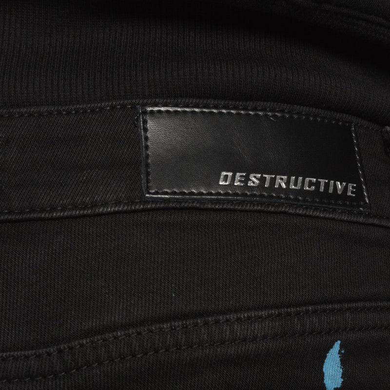 PAINT DENIM - VINTAGE BLACK - DSRCV
