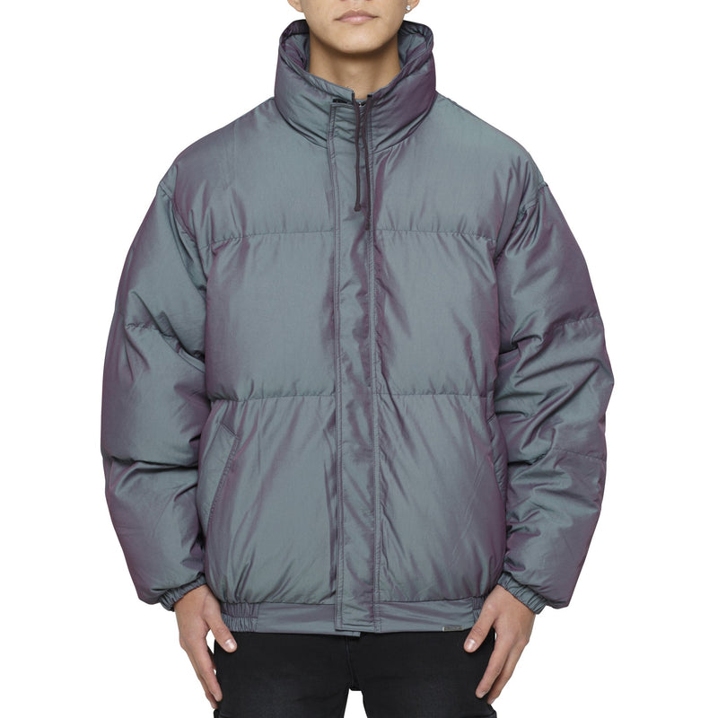 PUFFER JACKET - IRIDESCENT