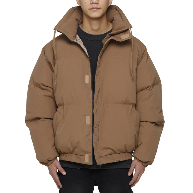 PUFFER JACKET - BROWN - DSRCV