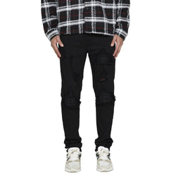 BIKER DENIM - JET BLACK - DSRCV