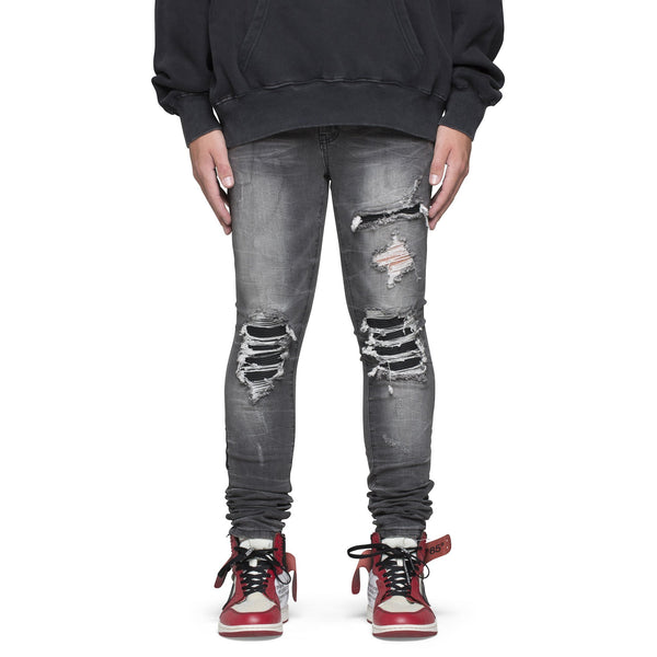 BIKER DENIM - VINTAGE GREY - DSRCV