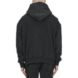FEELS LIKE HELL HOODIE - WASHED BLACK - Destructive