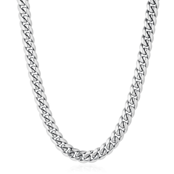 10MM MIAMI CHAIN - WHITE GOLD - DSRCV