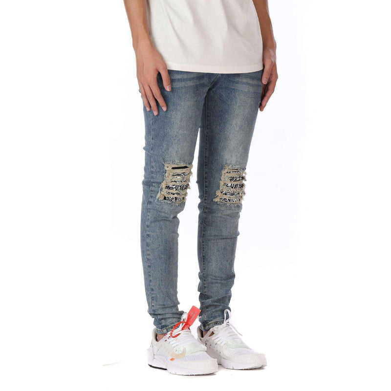 BANDANA DENIM - BLUE