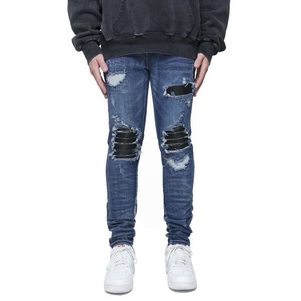 BIKER DENIM - SAND BLUE - DSRCV