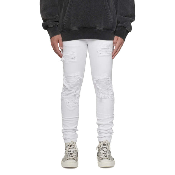 BIKER DENIM - WHITE - DSRCV