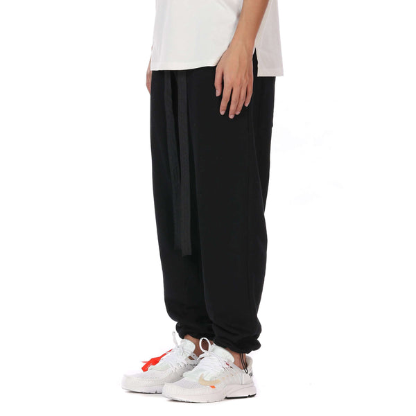 CASUAL SWEATPANTS - BLACK