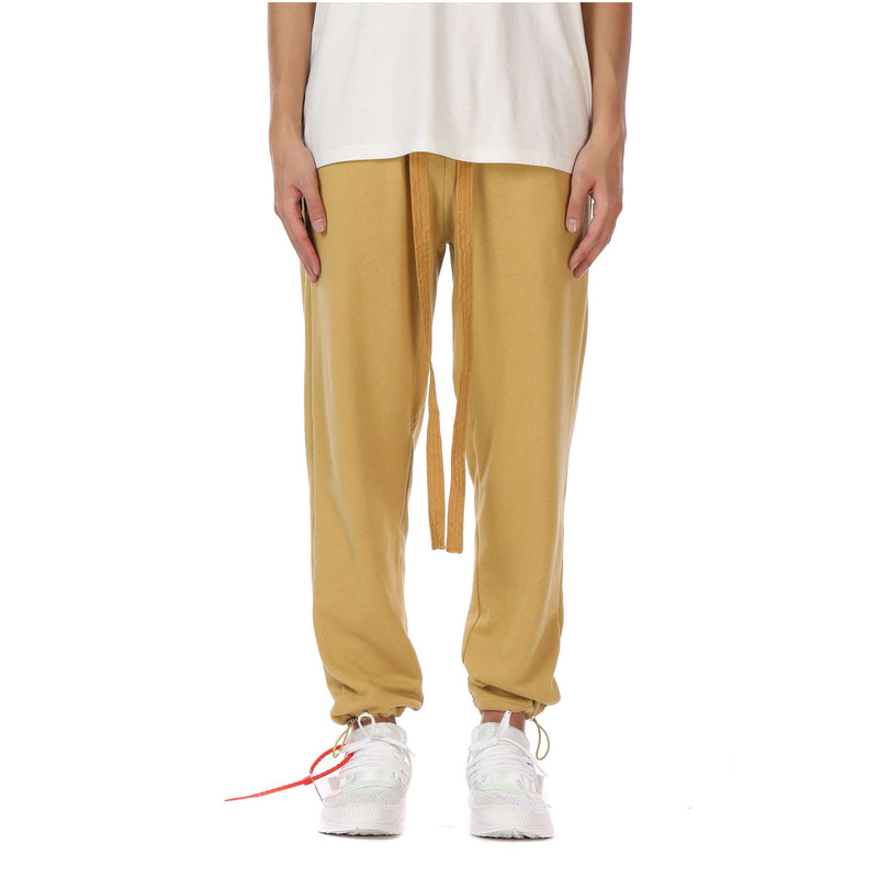 CASUAL SWEATPANTS - MUSTARD