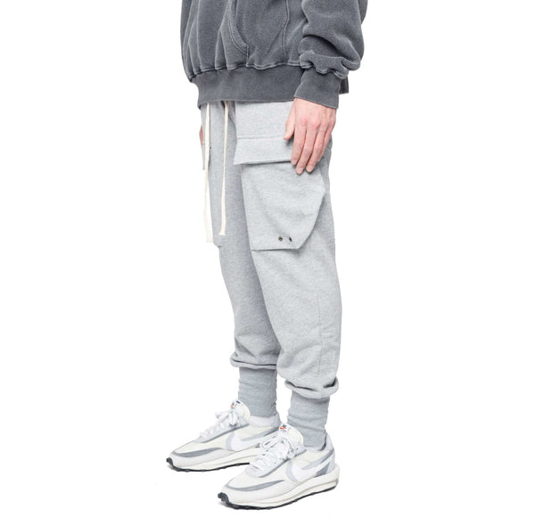 COTTON CARGO PANT - GREY - DSRCV