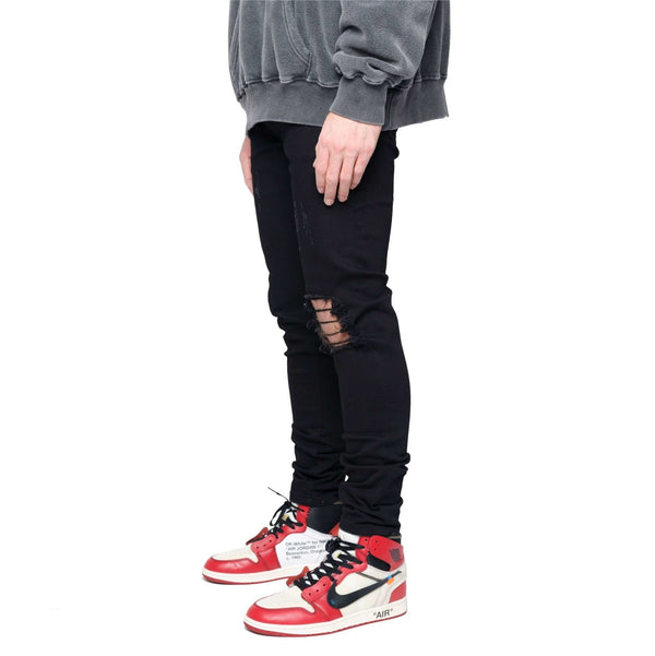 DESTROYED DENIM - VINTAGE BLACK - DSRCV