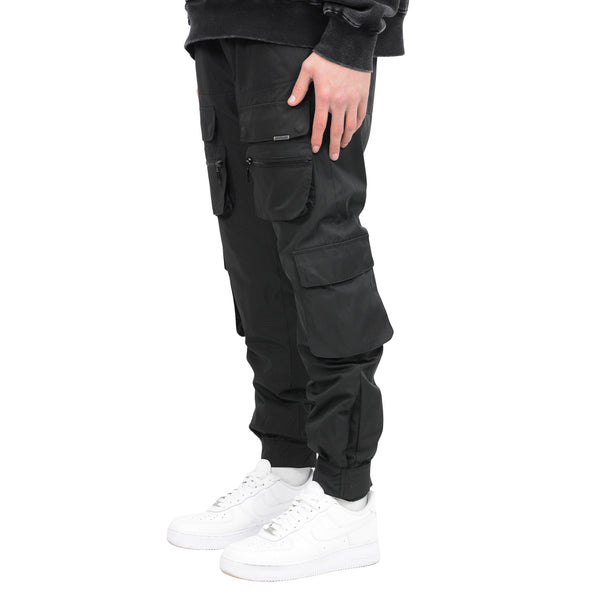 COMBAT PANT - BLACK - Destructive