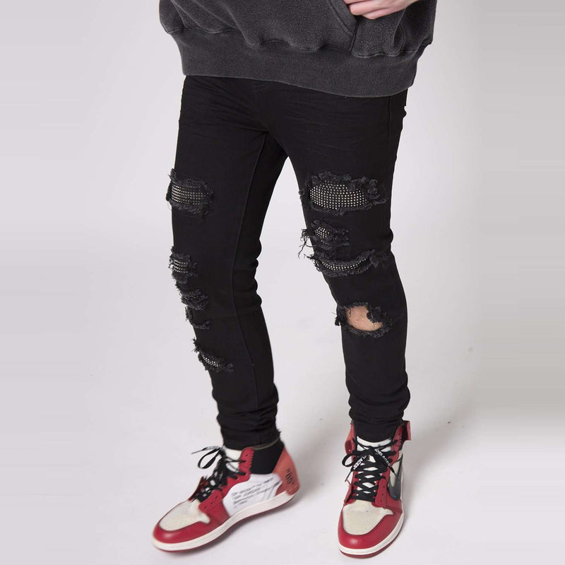DIAMOND DENIM - JET BLACK - DSRCV