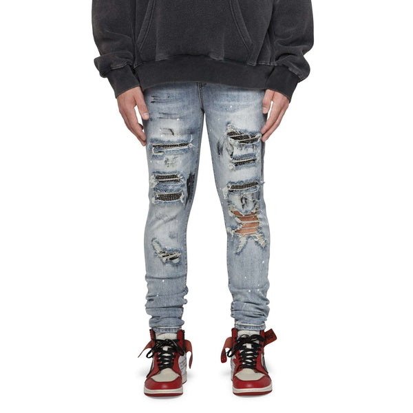DIAMOND SPLASH DENIM - INDIGO - DSRCV