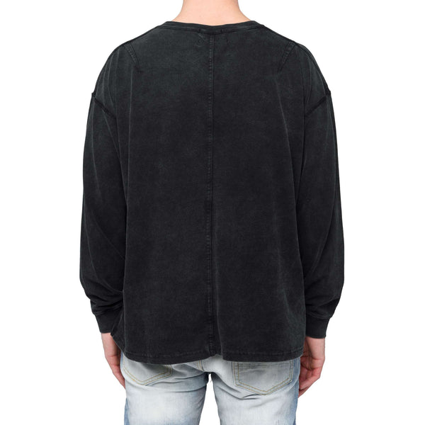 LONG SLEEVE TEE - WASHED BLACK - DSRCV