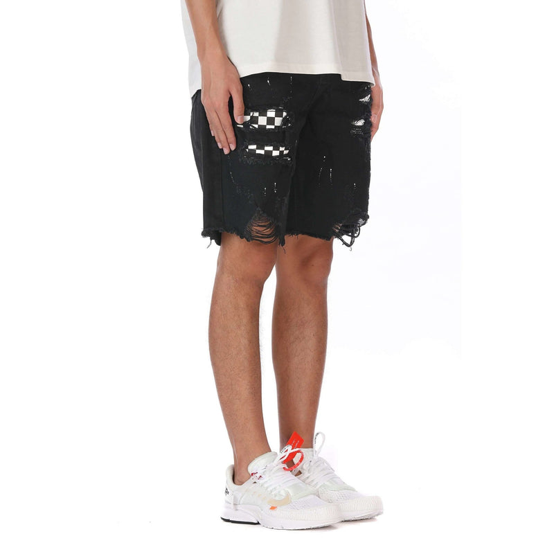 PATCH SHORTS - BLACK - DSRCV