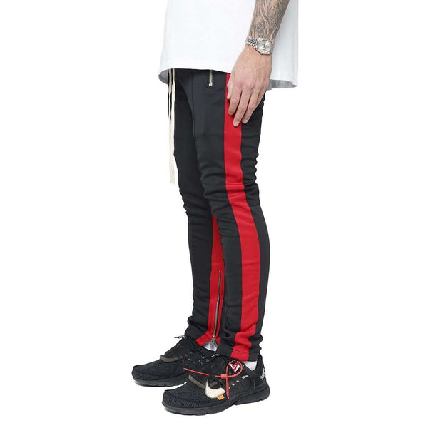 RETRO PANT V3 - BLACK / RED - DSRCV