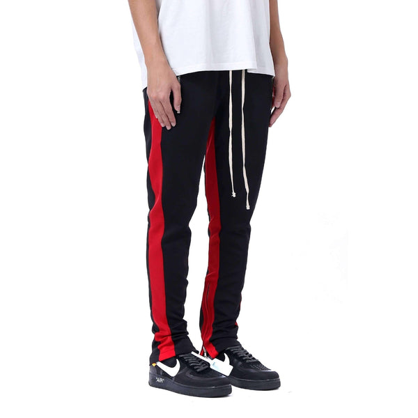 RETRO PANTS V2 - BLACK / RED - DSRCV