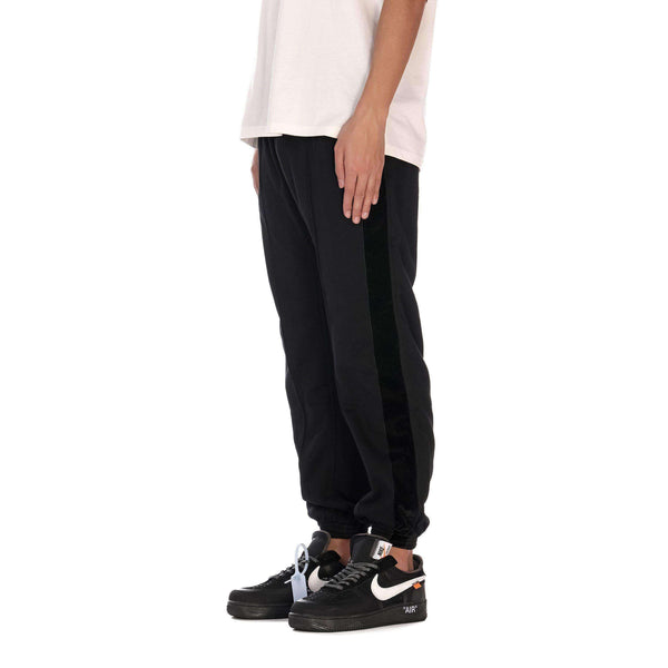STRIPE PANTS - BLACK