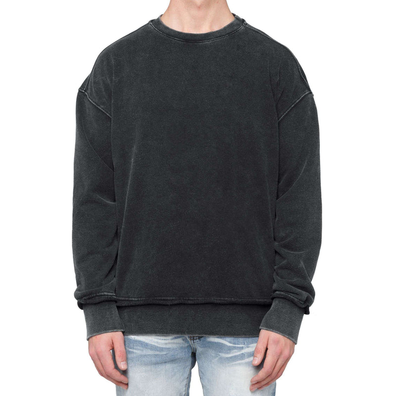 SWEATSHIRT - WASHED BLACK - DSRCV