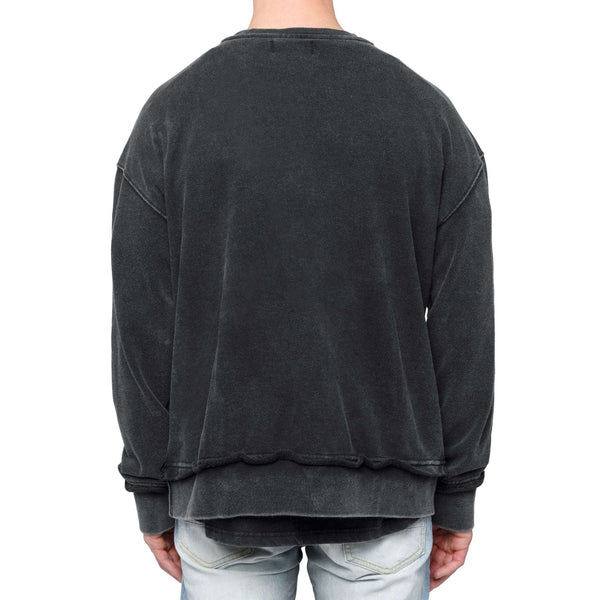 SWEATSHIRT - WASHED BLACK