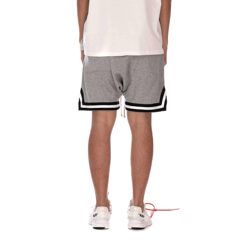 TERRY SPORT SHORTS - GREY - Destructive
