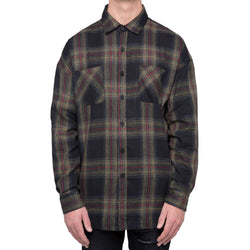 WASHED FLANNEL - GREEN