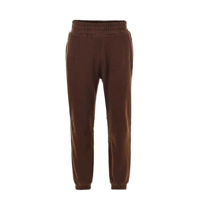 WASHED SWEATPANTS - BROWN