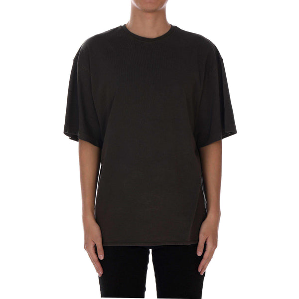 WASHED TEE - CHARCOAL