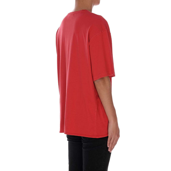 WASHED TEE - RED