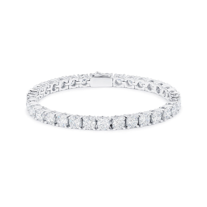 TENNIS BRACELET - WHITE GOLD - DSRCV