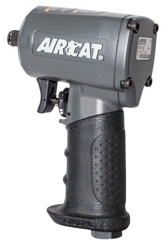 "AirCat 1/2"" Compact Impact Wrench 500 ft-lb torque 1055-TH"